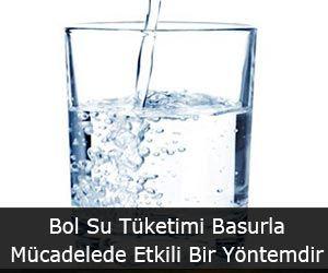 Bol Su Tüketimi Basurla Mücadelede Etkili Bir Yöntemdir