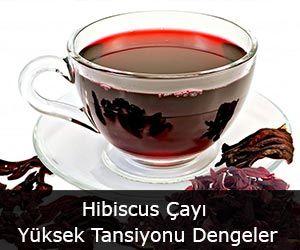 Hibiscus Çayı Yüksek Tansiyonu Dengeler